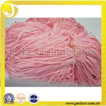 100% hilo reflectante chino de confección de ropa con alta elasticidad, color ROSA