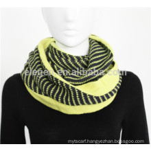 houndstooth long infinity scarf