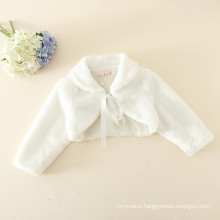 kids girls children poly padding children white winter fur coats