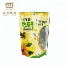 Excellente impression adaptée aux besoins du client par papier d'aluminium imperméable à l'humidité tiennent la poche Thaïlande avec la tirette