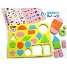 Eva éducatif jeux de puzzles magnétiques