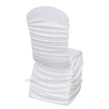 universal chair cover factory,CTS790,pleated style,200GSM best lycra fabric