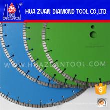Cemento mojado circular de la cuchilla del diamante de 350m m