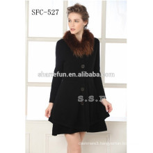 New Fashion Women 100% Cashmere Overcoat With Good Price