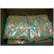 Légumes mélangés congelés aux carottes et pois