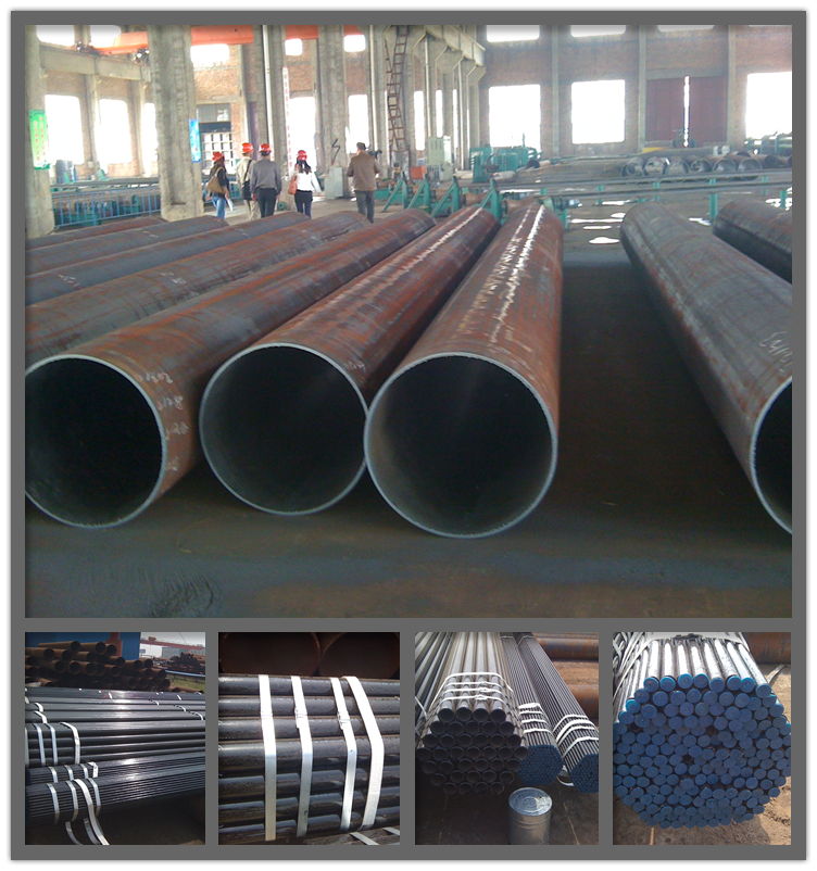 PE steel tube pipe fitting