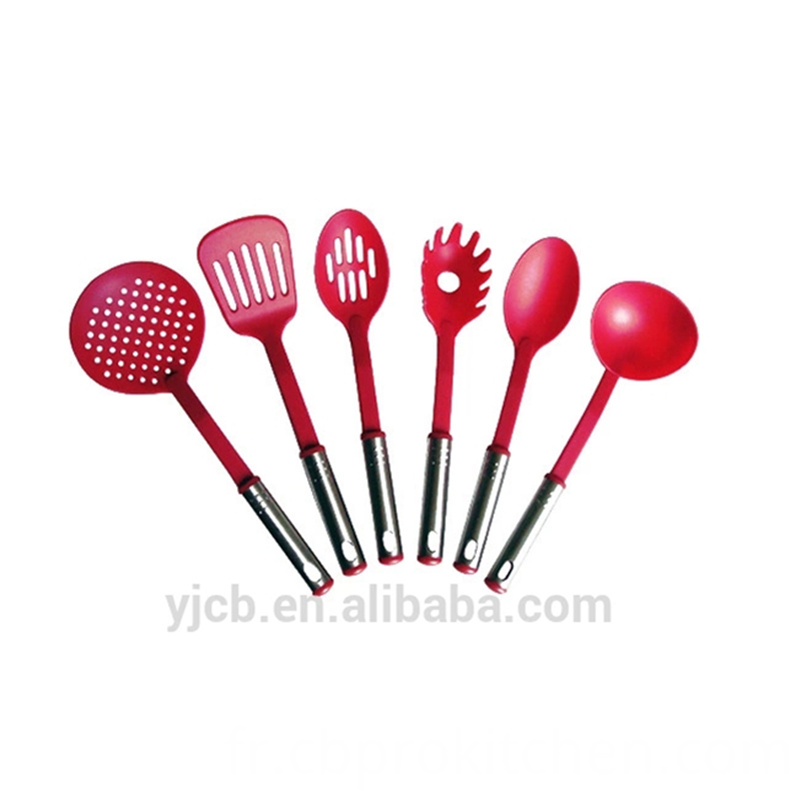 Red Nylon Utensil Set