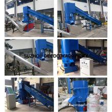 Máquina aglomeradora de productos químicos de fibra