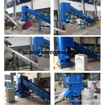 Machine Agglomerator de produits chimiques de fibre