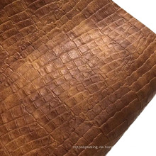Semi PU geprägtes Leder für die Tasche