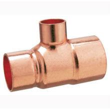 T de redução de cobre J9102, conexão de tubulação de cobre TEE, UPC, NSF SABS, WRAS aprovado
