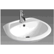 D608 Bathroom Ceramic Round Bathroom Basin