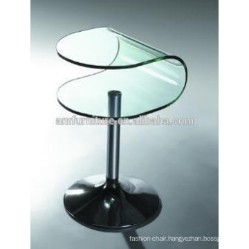 hot-bend glass End table