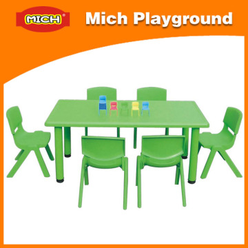 Kids Plastic Table with En1176, ISO (1209B)