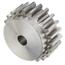 Engrenages en acier d'usinage CNC personnalisés de haute précision