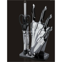 7PCS Casting Stainless Steel Kitchen Knife Set