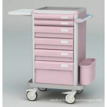 Luxury Icu Emergency Trolley , Crash Trolley Medical Equipment