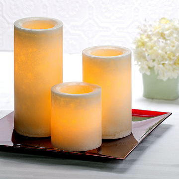 Set flameless LED candles