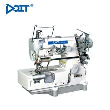 DT500-05CB / FT elástico ou rendas anexar preço da máquina de costura industrial bloqueio com aparador de tecido do lado direito