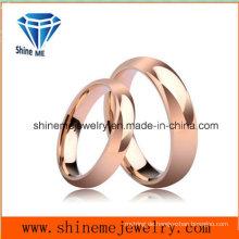 Mode-Liebhaber 18k Rose Gold Schmuck Wolfram Ring