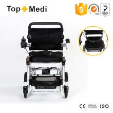 Nuevo producto de peso ligero super ligero llevado portátil de energía eléctrica silla de ruedas