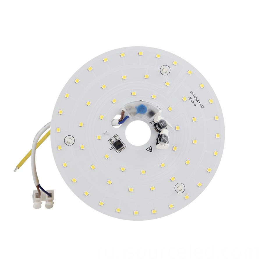 Led light pcb board warm coloured led light