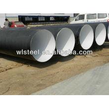 ASTMA106 Gr.B / Q235 / Q345 спиральный стальной труба большого диаметра для продажи