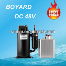 R134a electric automotive air conditioning compressor dc kompressor with bldc motor for truck portable air conditioner