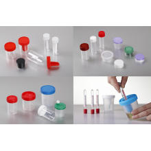 Recipiente de urina de plástico descartável CE e FDA