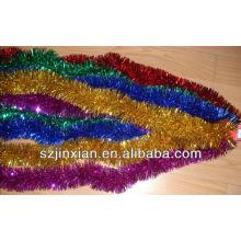 decorative tinsel garland,tinsel garlandchristmas tinsel garland