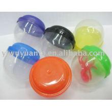 Leere Plastikkapsel für Spielzeugautomat