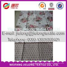 tela textil para el hogar de tela de piel de durazno 100% algodón