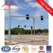 Galvanized Double Arm Popular Traffic Light Pole Street Lighting Pole