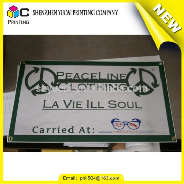 Fashionable design PVC printing hot sale outdoor flying beach flag banners and outdoor banner for sale