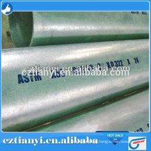 Factory direct sell ASTM A53 Hot Dipped Galvanized Seamless Steel pipe