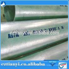 Venda directa da fábrica ASTM A53 Hot Dipped Galvanized Seamless Steel pipe