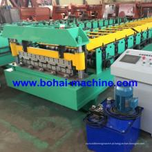 Folha plana de aço de Bohai que dá forma à máquina