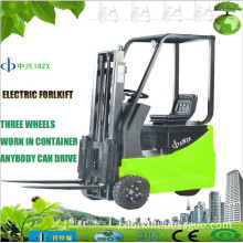 0.7ton 1.1ton 1.5ton three wheels electric forklift container forklift dc motor controller ZX