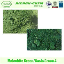 Venda imperdível! Uso Industrial Basic Green 4 Cas NO .: 2437-29-8 pó verde malaquita Basic Green Crystal