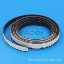 12mm 15mm soft flexible rubber strong magnet with adhesive backing