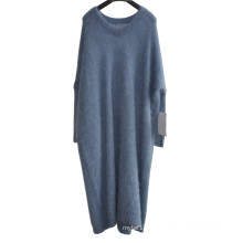 New Mohair Ladies Long Loose Knit Sweater