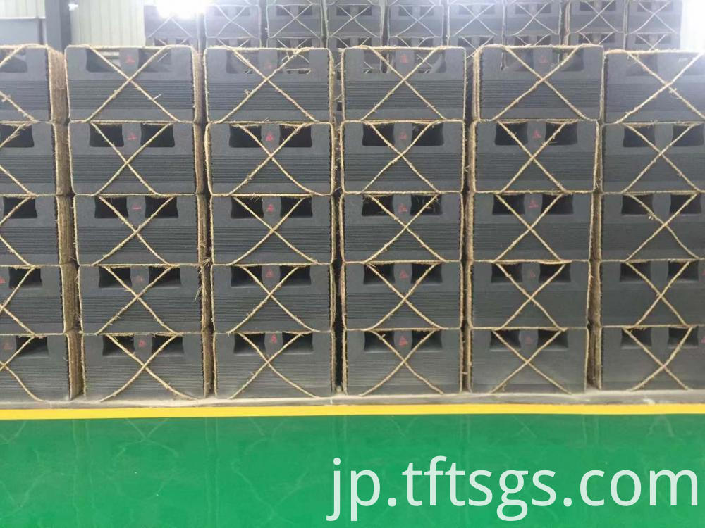 1.75-1.85 g/cm3 density extruded graphite blocks