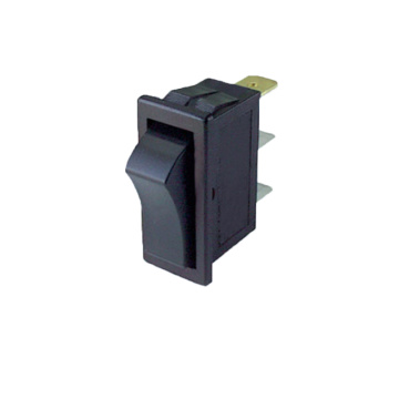 Verlichte knop Momentary Contact Rocker Switch