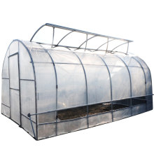 Quality assurance plastic garden poly tunnel greenhouse