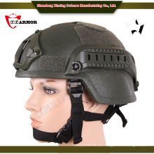Productos vendedores calientes Escudo balístico de la cara nij iiia casco balístico