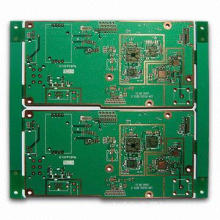 HAL Lead-free 4-layer PCB with 1oz Copper Thickness and Green Solder Mask