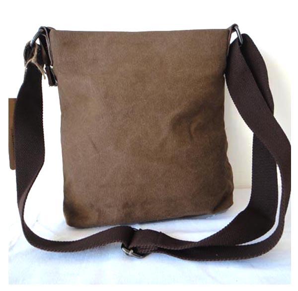 Vintage Leisure Leather Mix Canvas Traveller bags