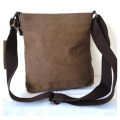 Vintage Leisure Leather Mix Canvas Traveler bags