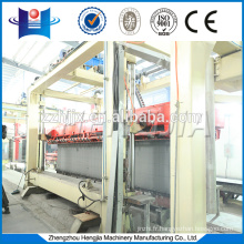 Autoclaved aerated concrete block brick equipment