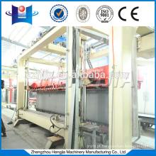 Autoclaved aerated concrete block brick equipment